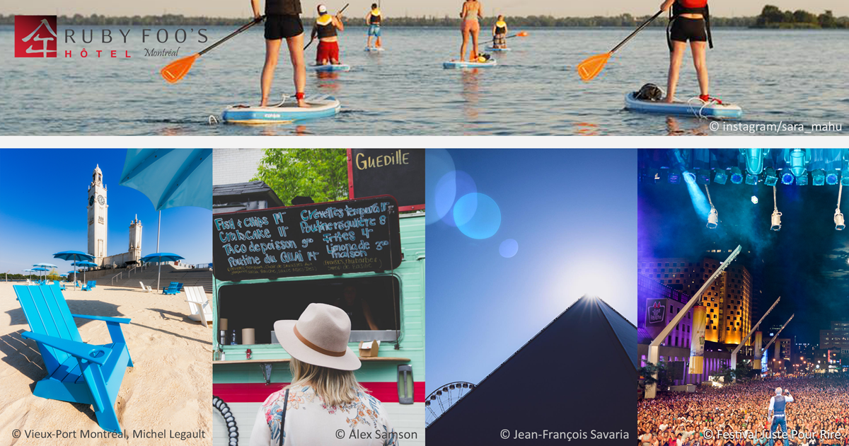Top Five Essential Summer Activities to do in Montréal - 2019