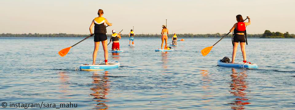 SUP - Stand Up Paddle on St-Lawrence River - Montreal Top 5 Activities