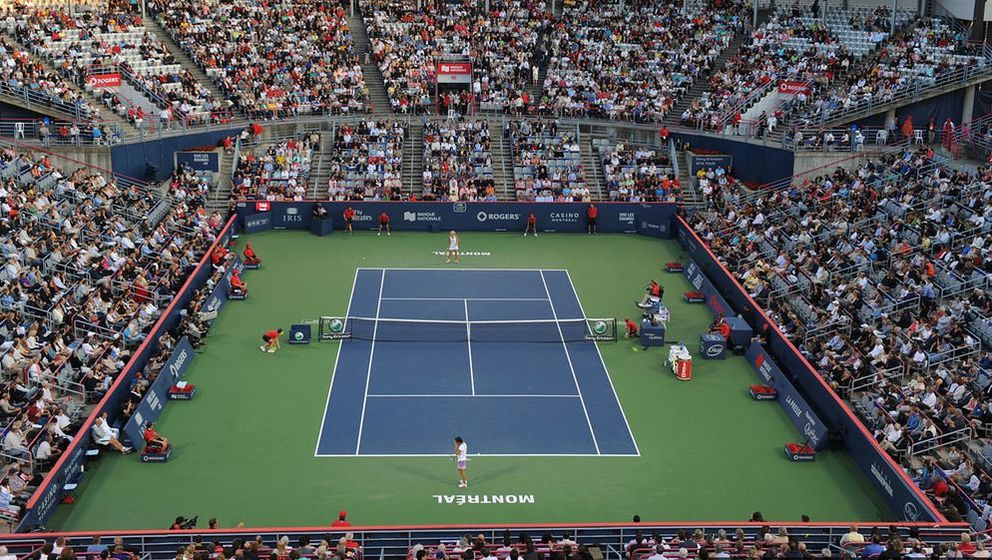 Stadium View of Rogers Cup