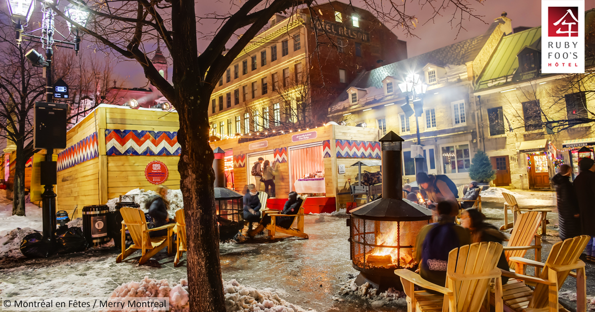 5 enchanting activities - things to do in Montreal during Holidays - by Hotel Ruby Foo's